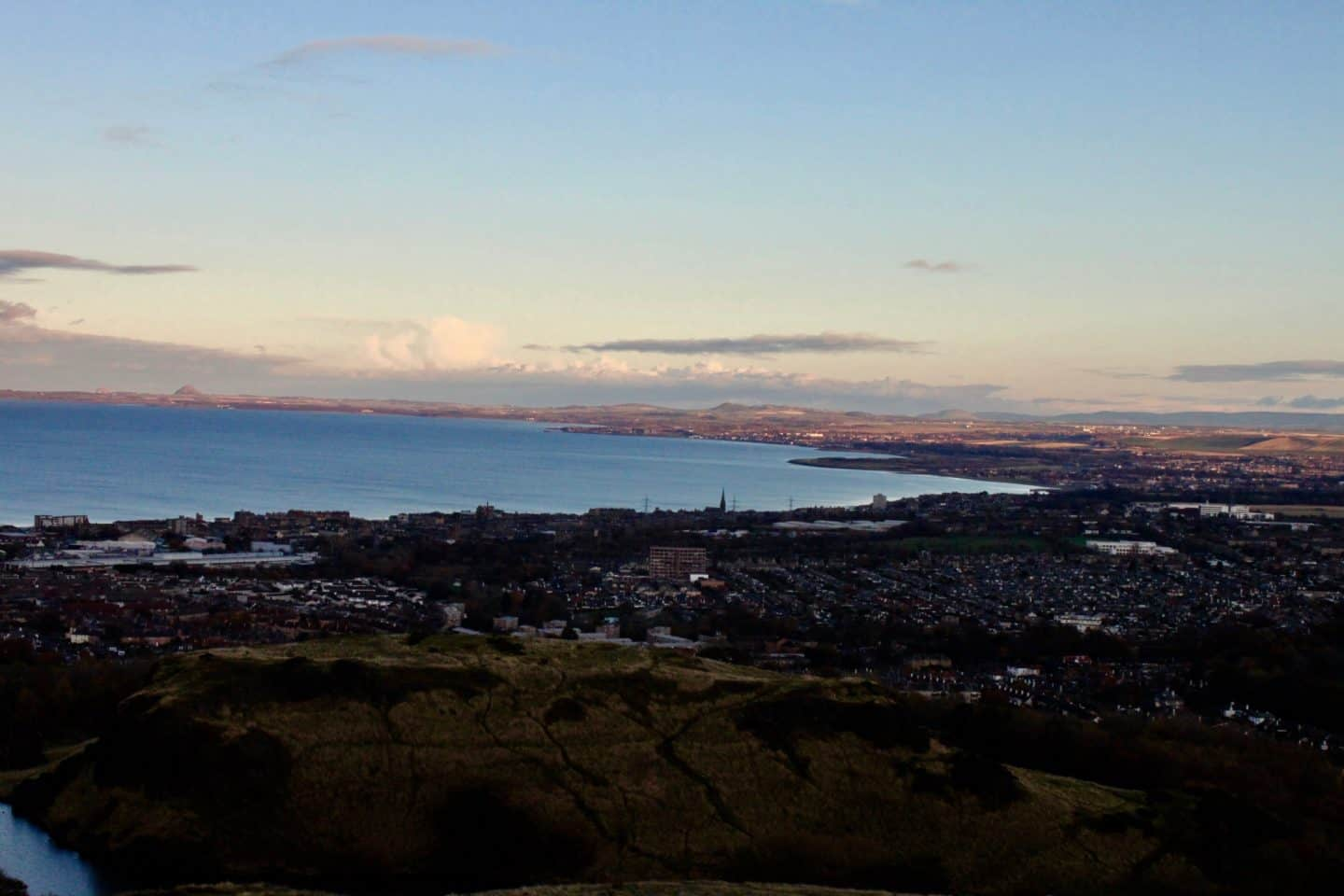 Views over Edinburgh from Arthur's Seat