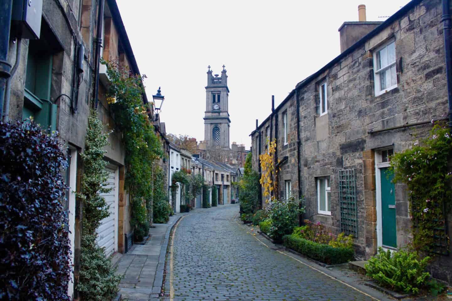 The perfect Instagram streets in Edinburgh