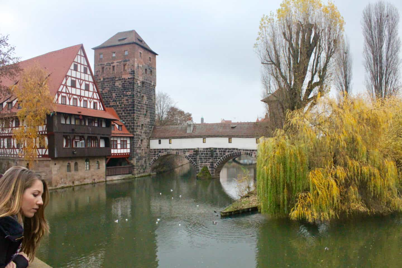 Nuremberg medieval town centre