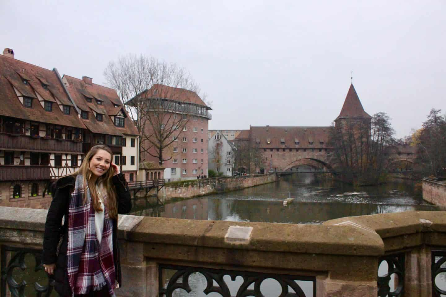 Exploring Nuremberg's medieval town centre