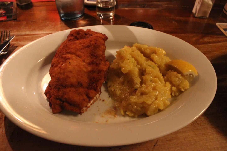 Traditional dinner in Nuremberg