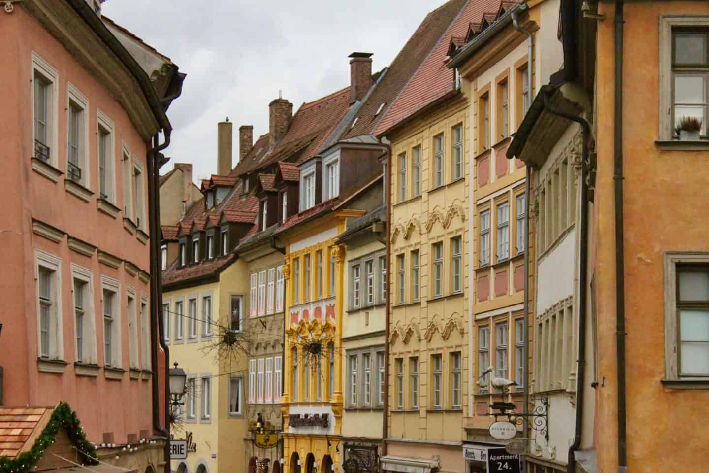 The UNESCO World Heritage town of Bamberg