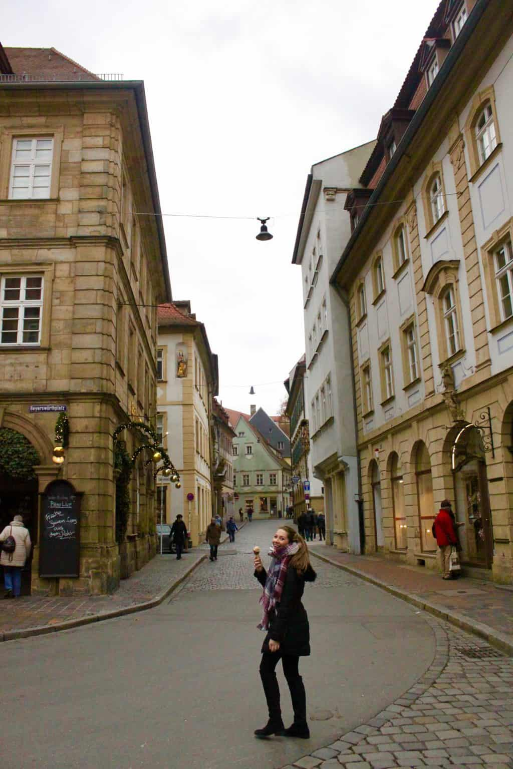 Wandering the streets of Bamberg