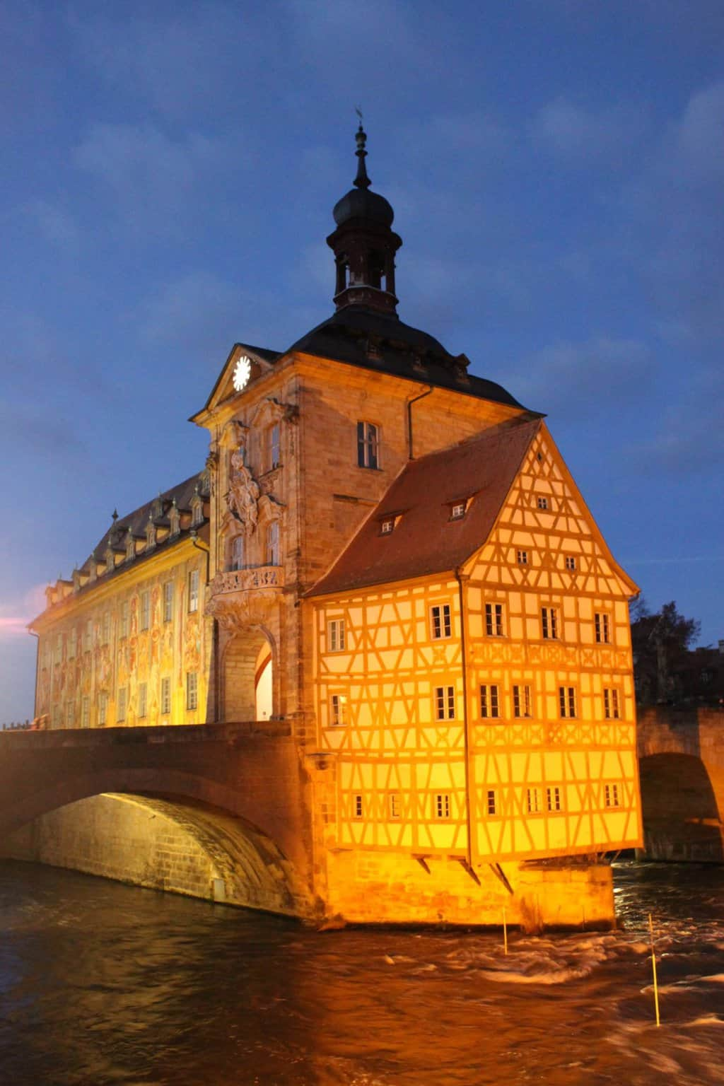 The Altes Rathaus in Bamberg