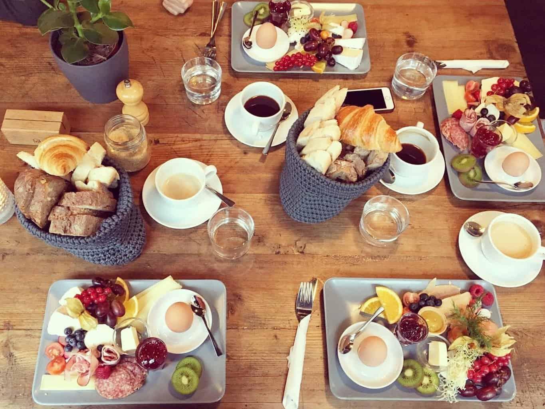 Breakfast in Nuremberg