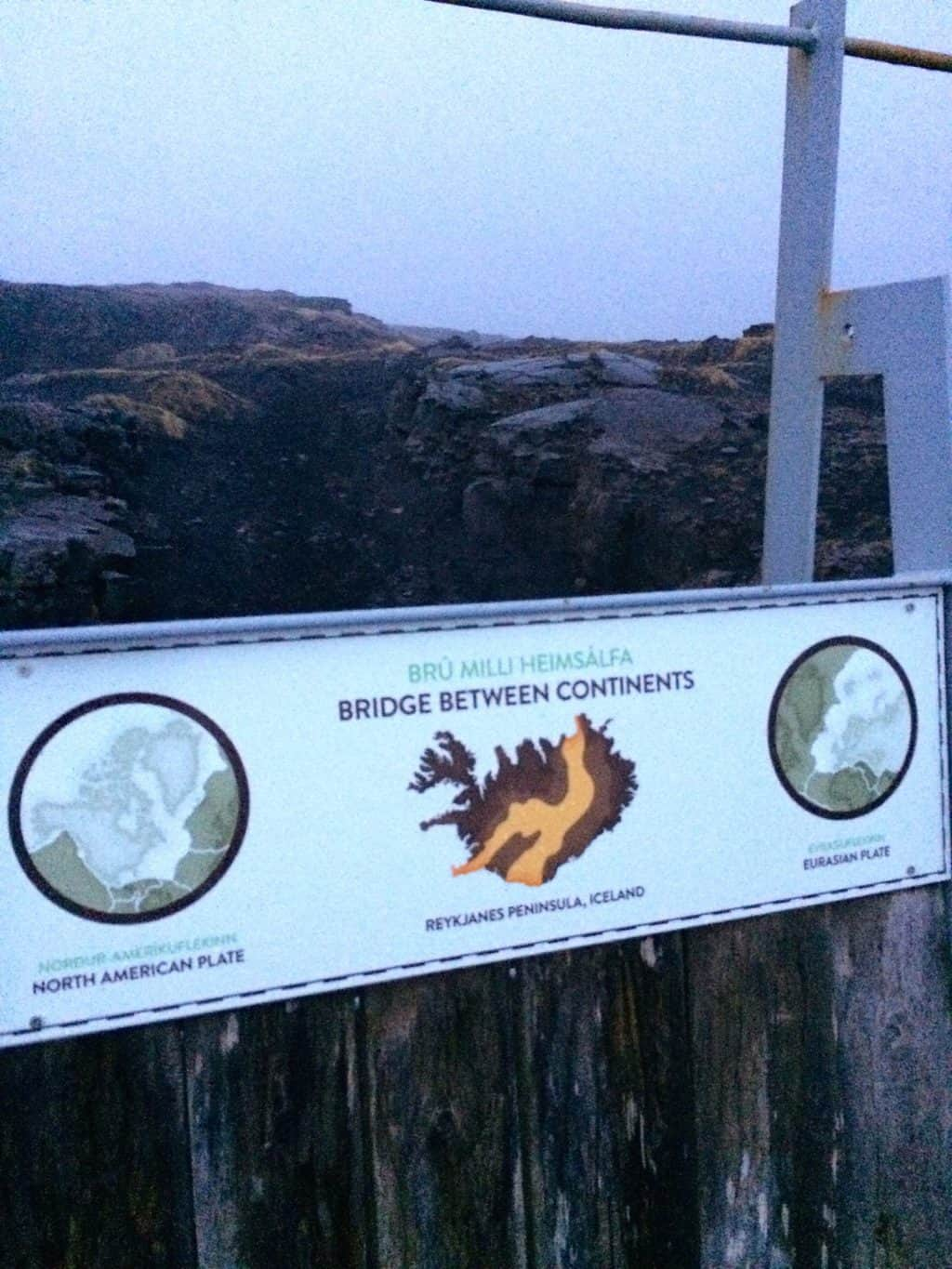 Sandvik tectonic plates sign