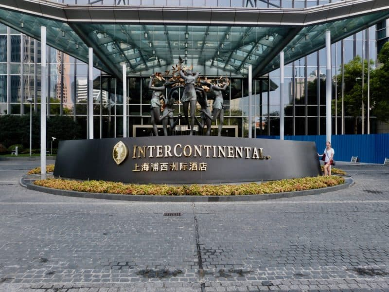 review intercontinental shanghai puxi hotel