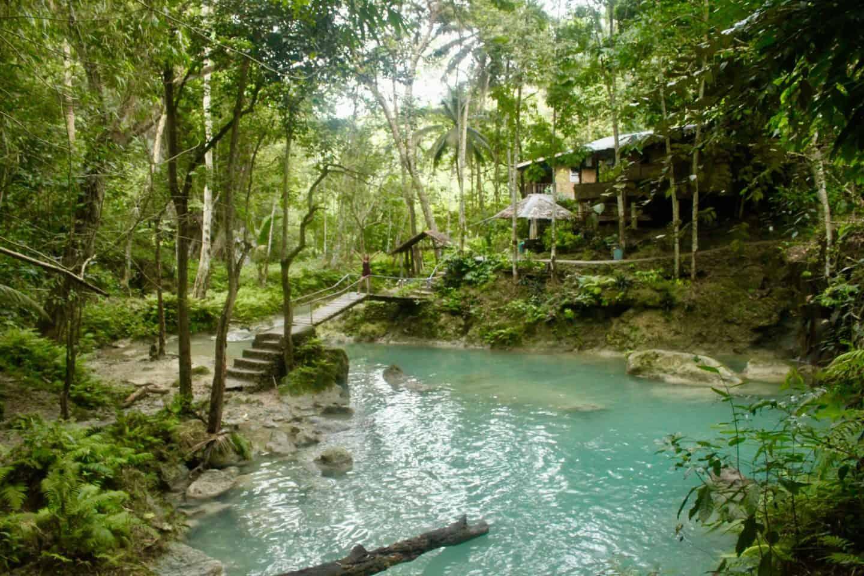 The pool of Kawasan Falls Cebu
