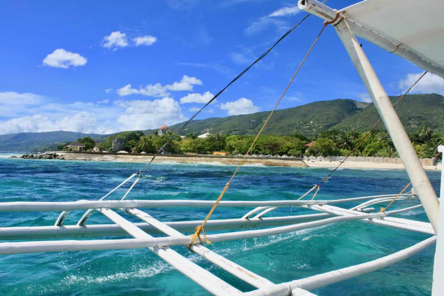 Sailing from Oslob to Panglao, Bohol, Philippines