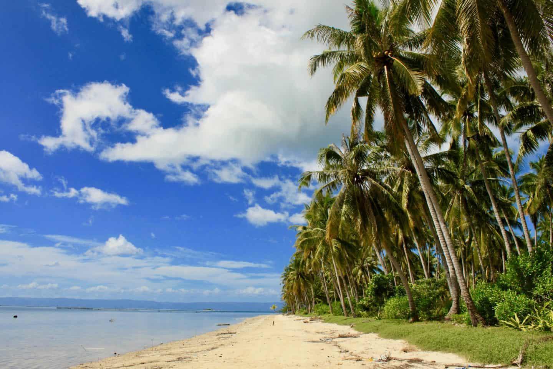 Empty beaches on Bohol Island, Philippines