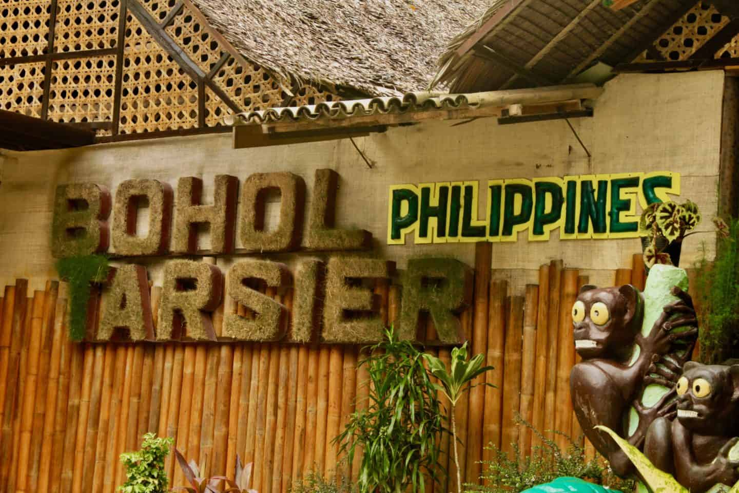 Entrance to Bohol Tarsier Sanctuary