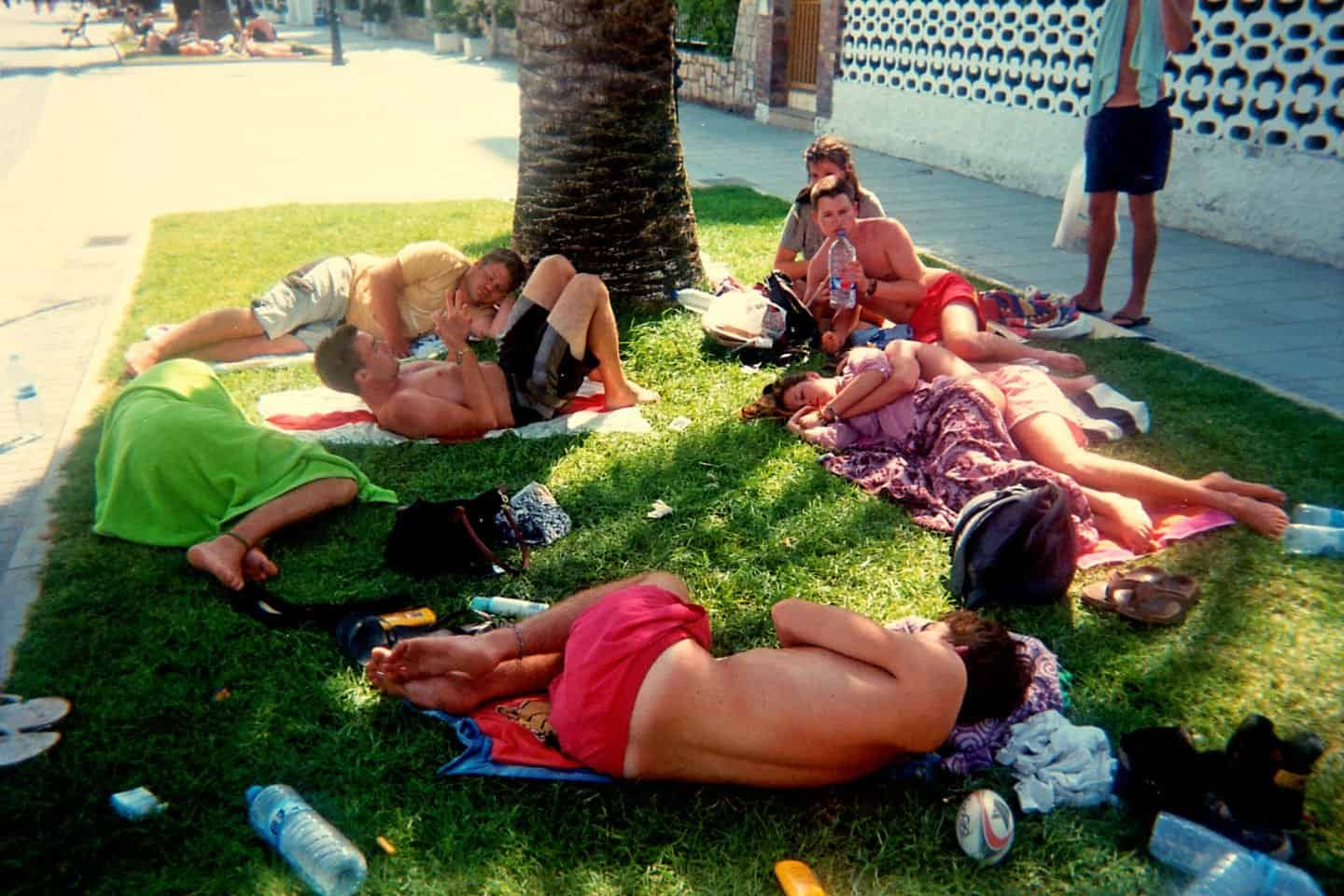 Sleeping at Sleeping at Benicassim Festival