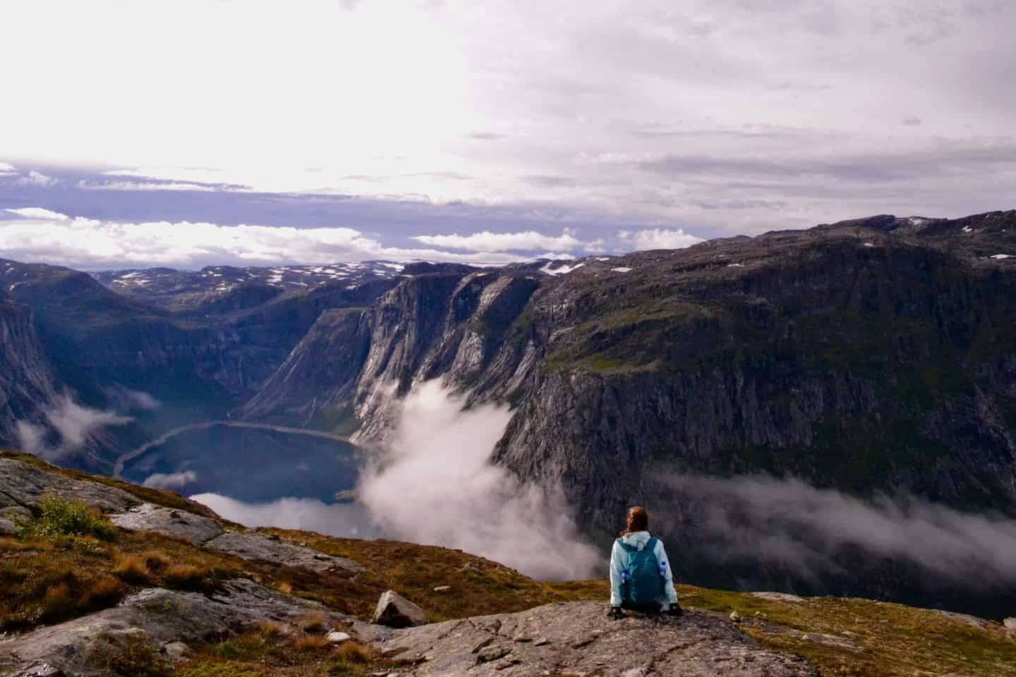 View at Trolltunga
