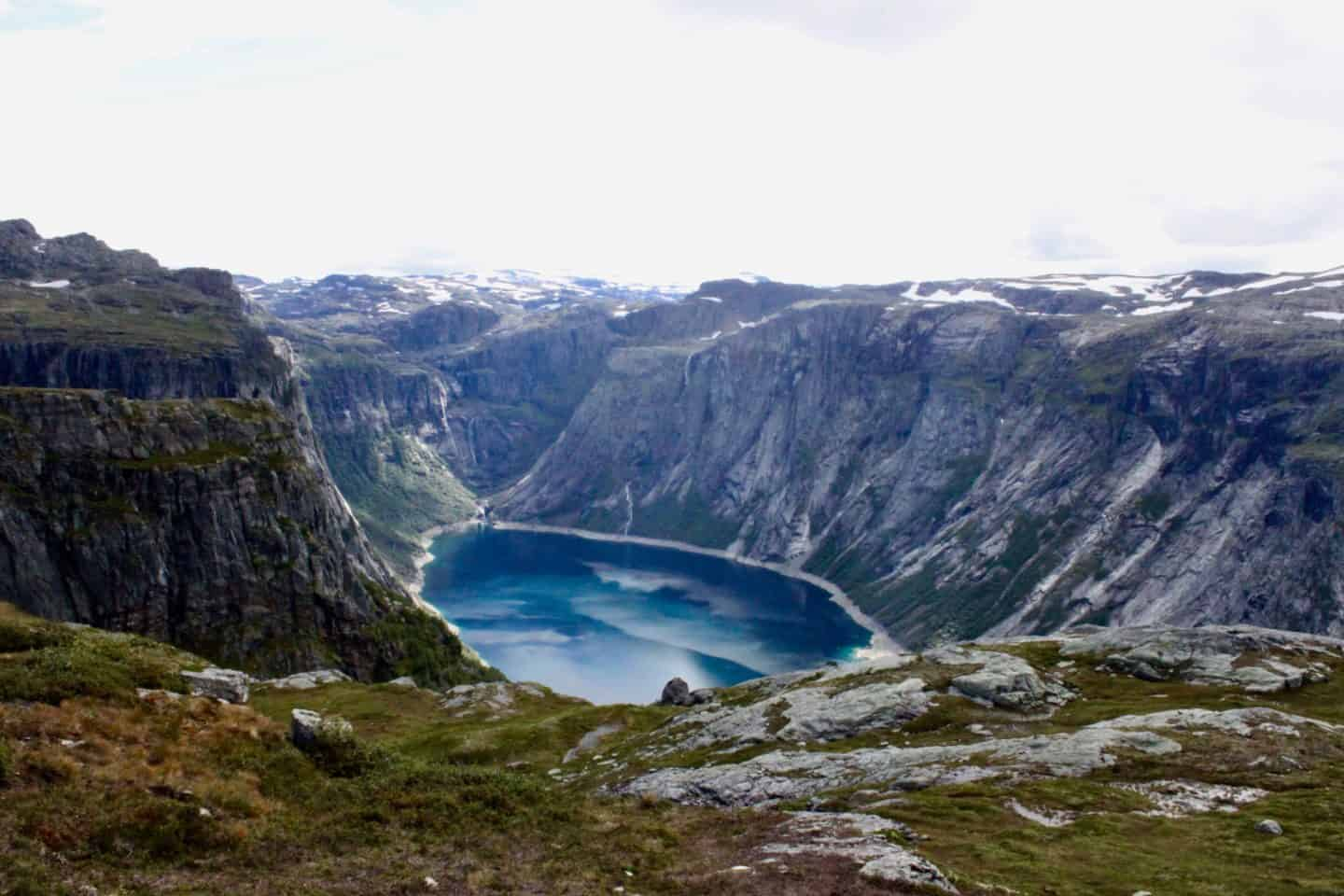 Stunning scenery along the Trolltunga route