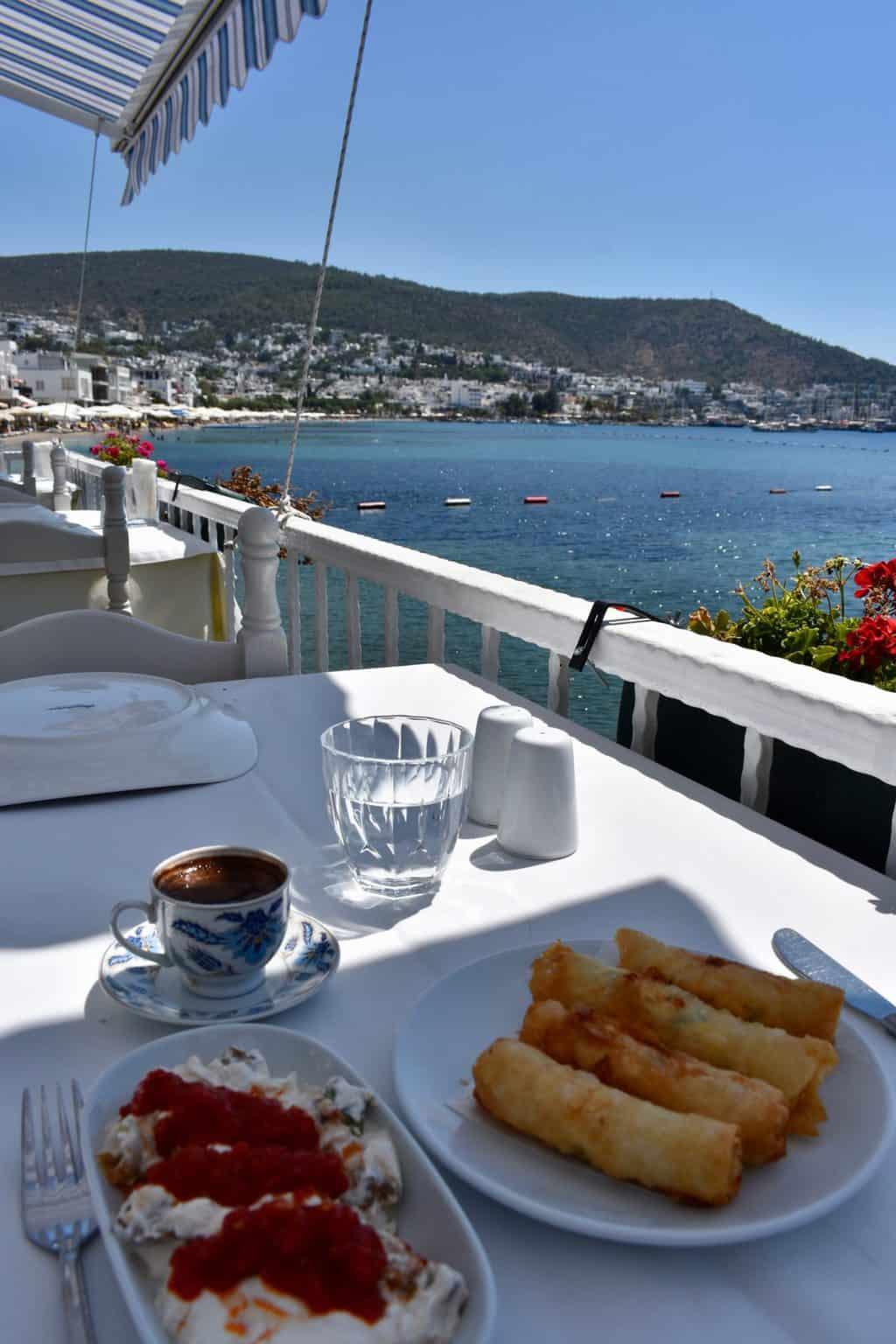 Turkish cuisine in Bodrum