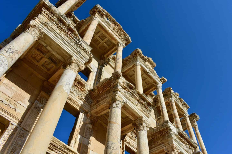 Visiting Ephesus in Turkey