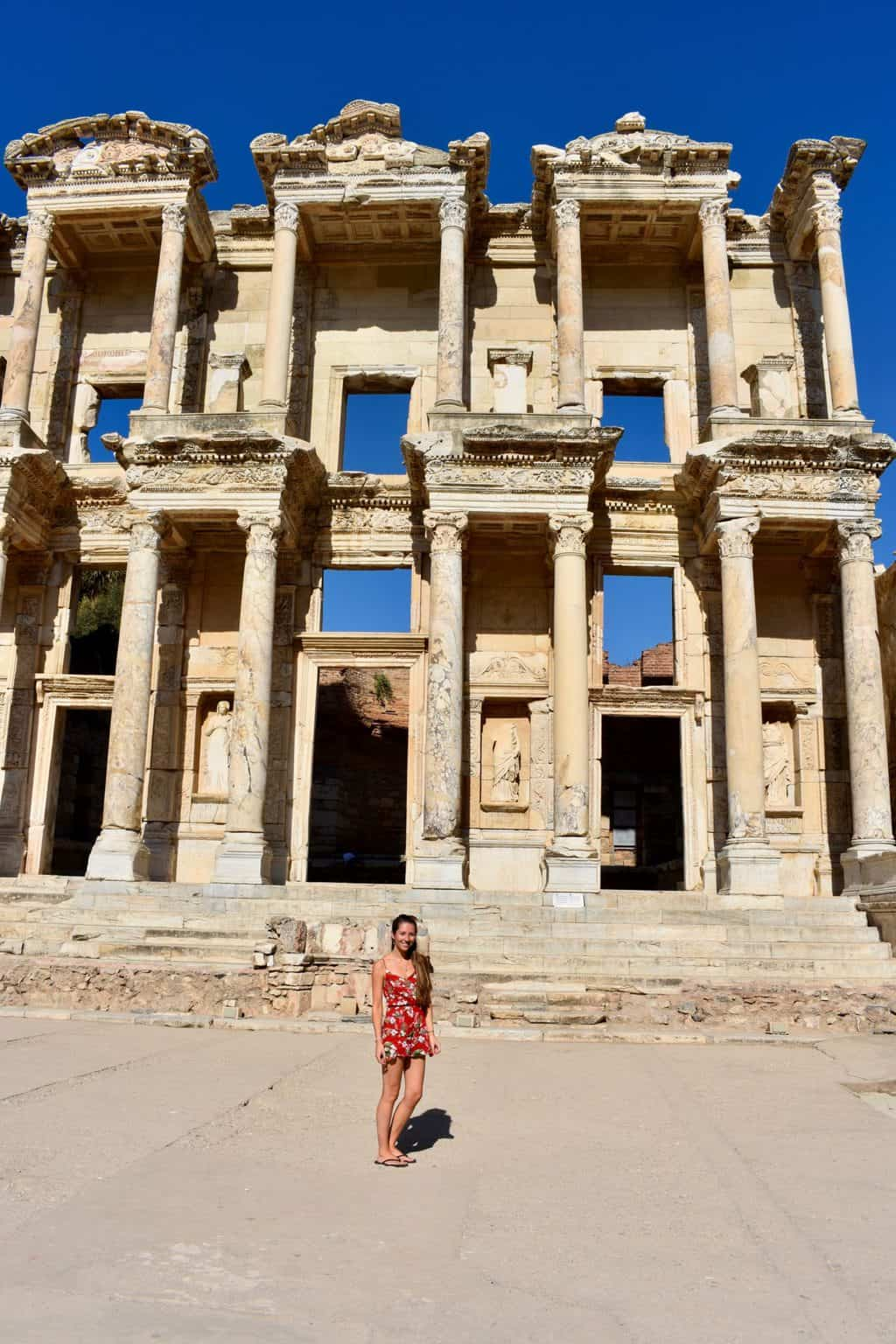 visiting ephesus in turkey