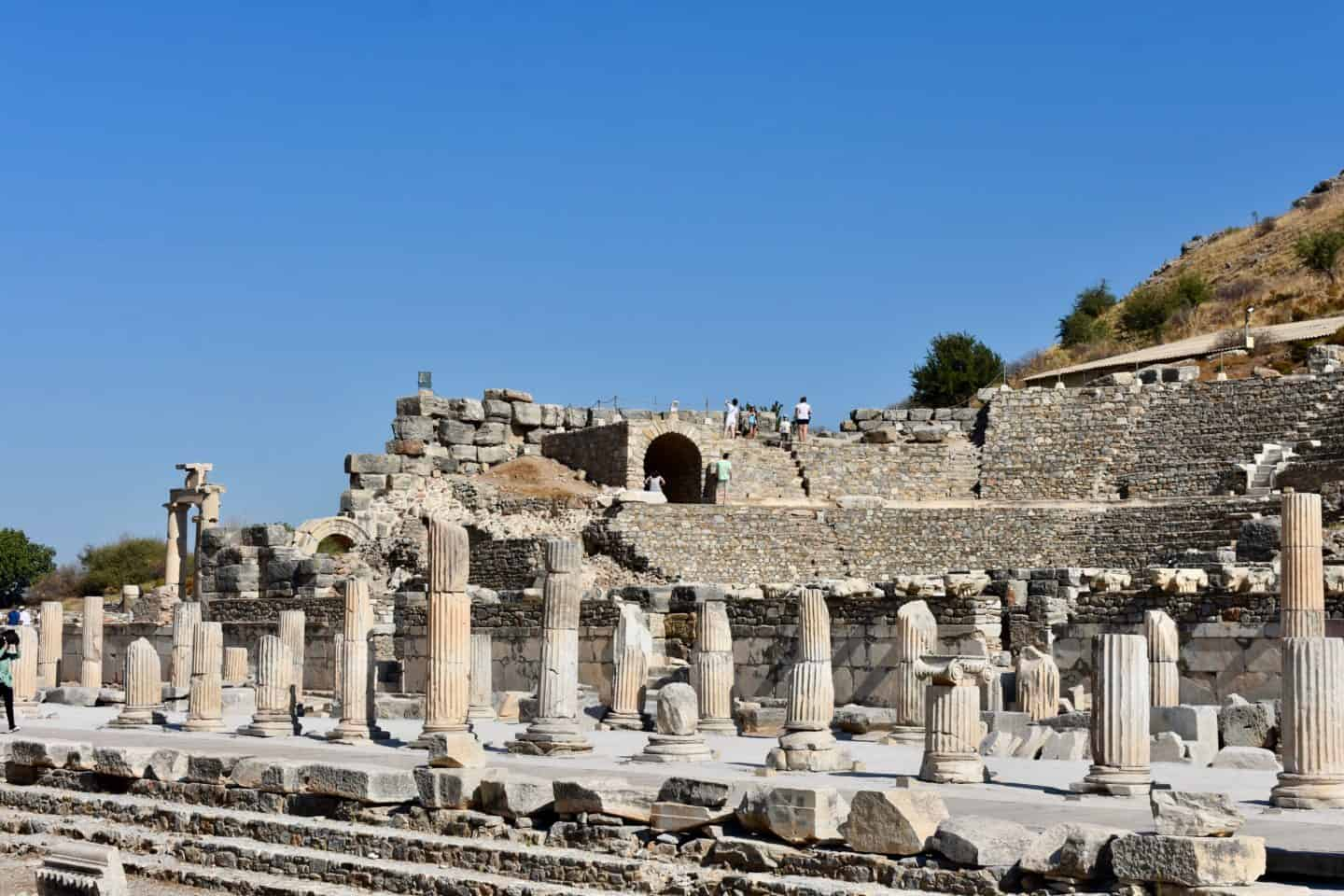 visiting ephesus in a turkey itinerary