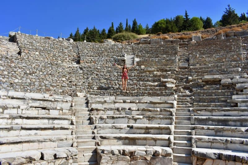 visiting ephesus turkey