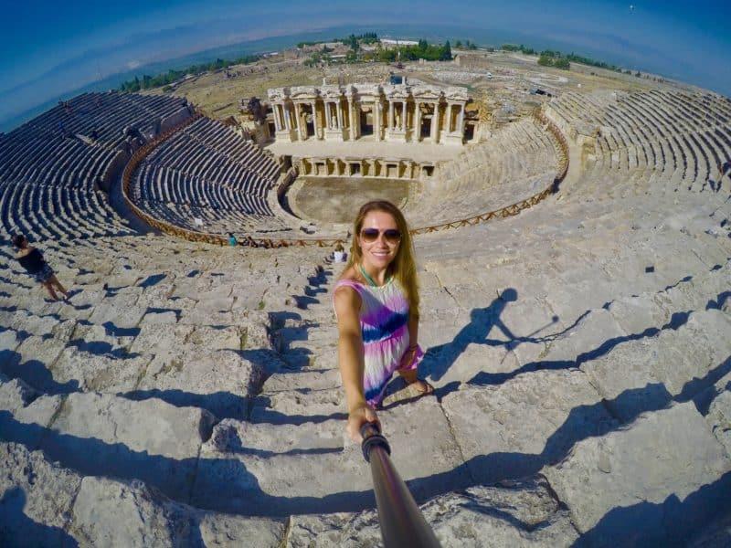 Visiting Hierapolis in Turkey