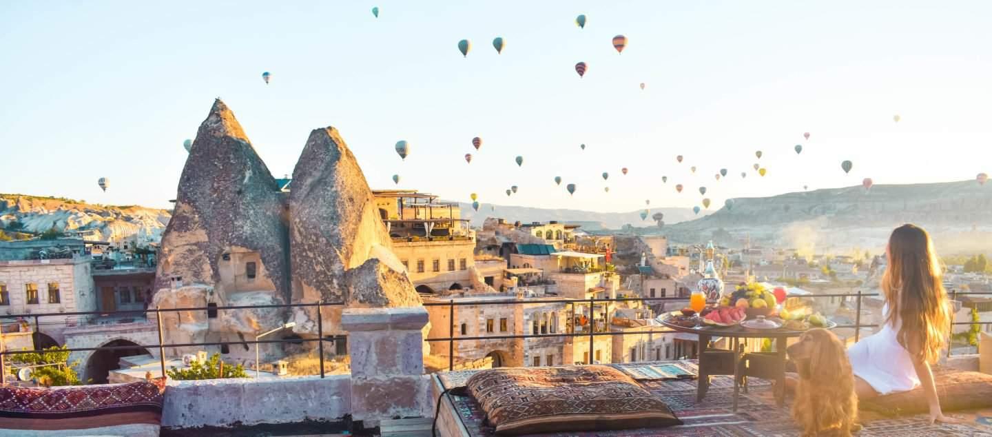the best photo shoot location in Cappadocia