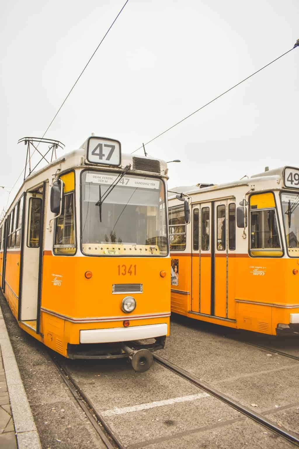 getting around Budapest