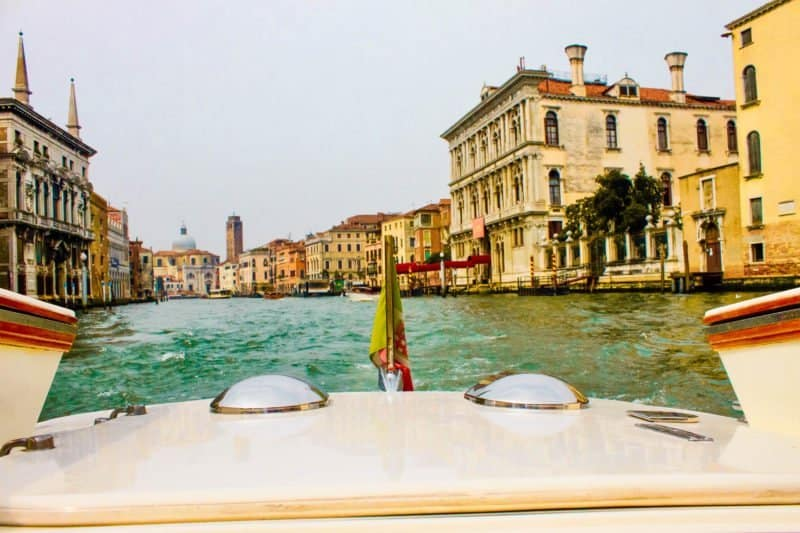Going from Venice to Murano