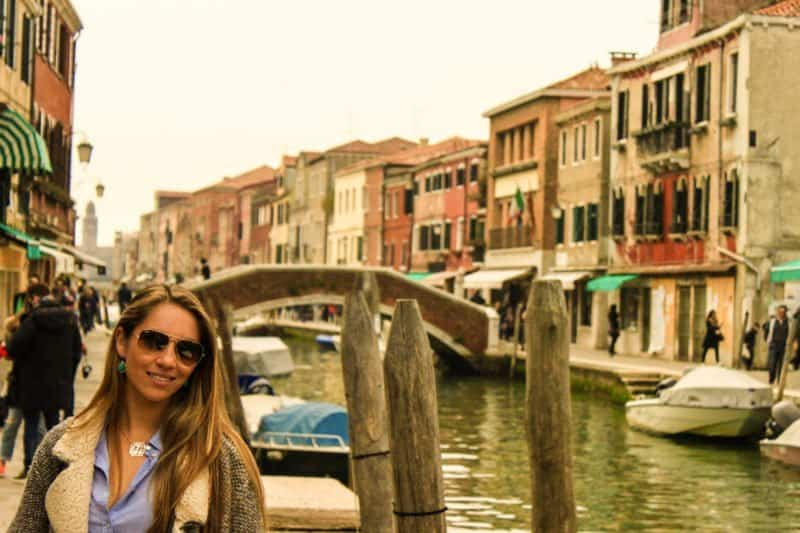 Colourful streets of Murano