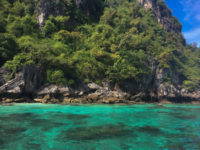 Paradise islands in Thailand