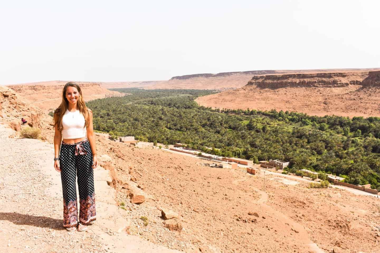 Ziz Valley in Morocco
