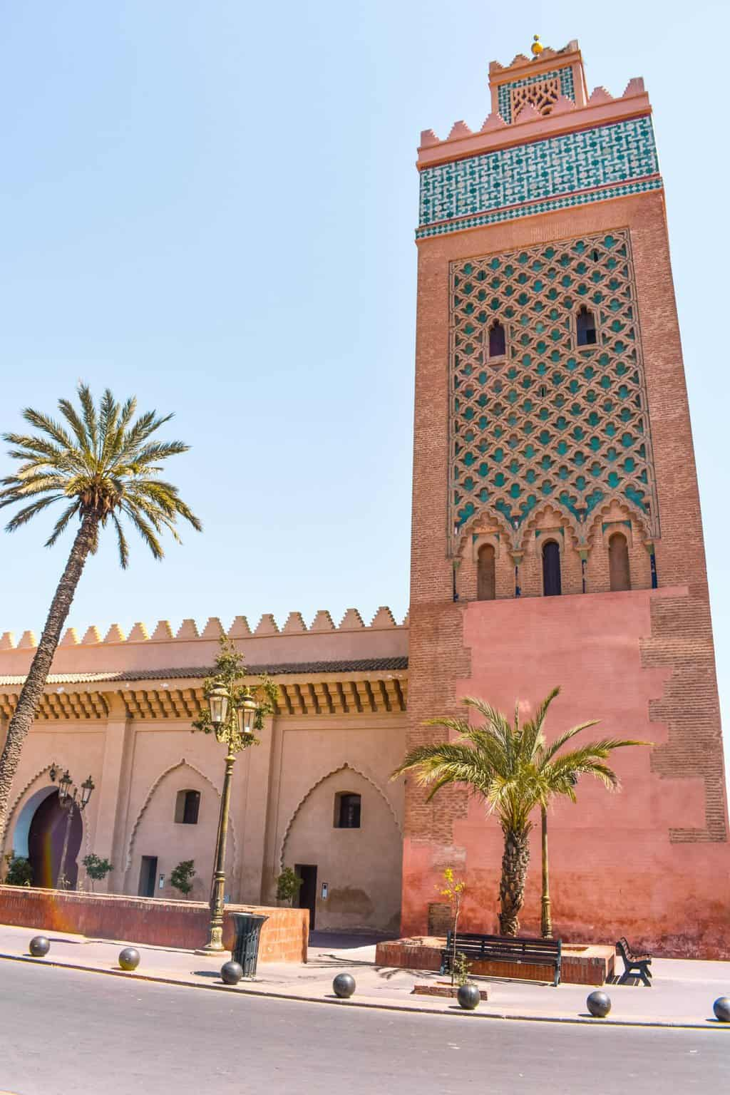 Sites to see in Marrakech