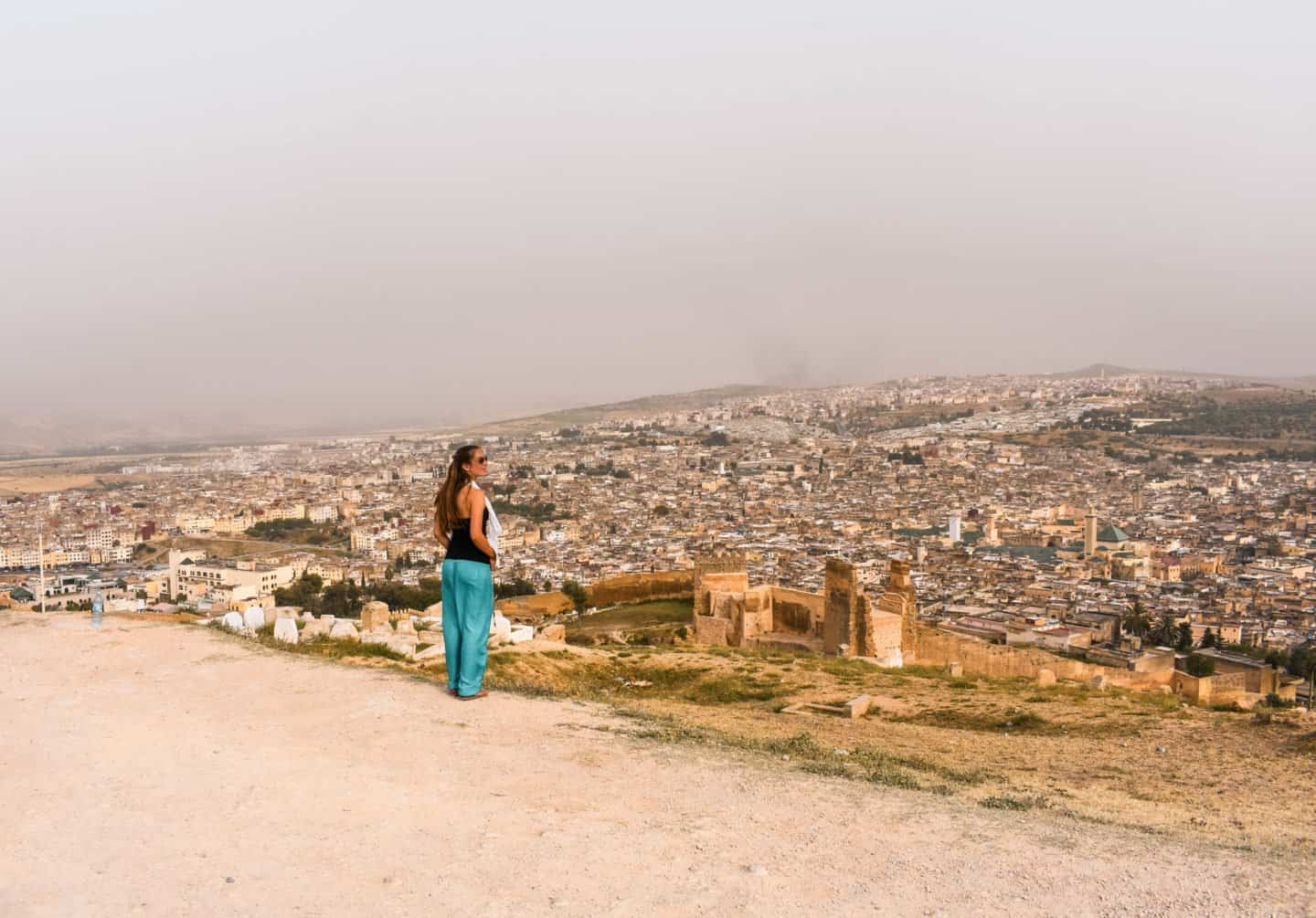 best viewpoint in Fes Morocco