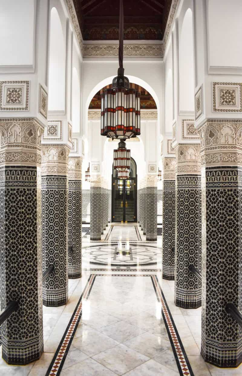 Visiting La Mamounia for the day