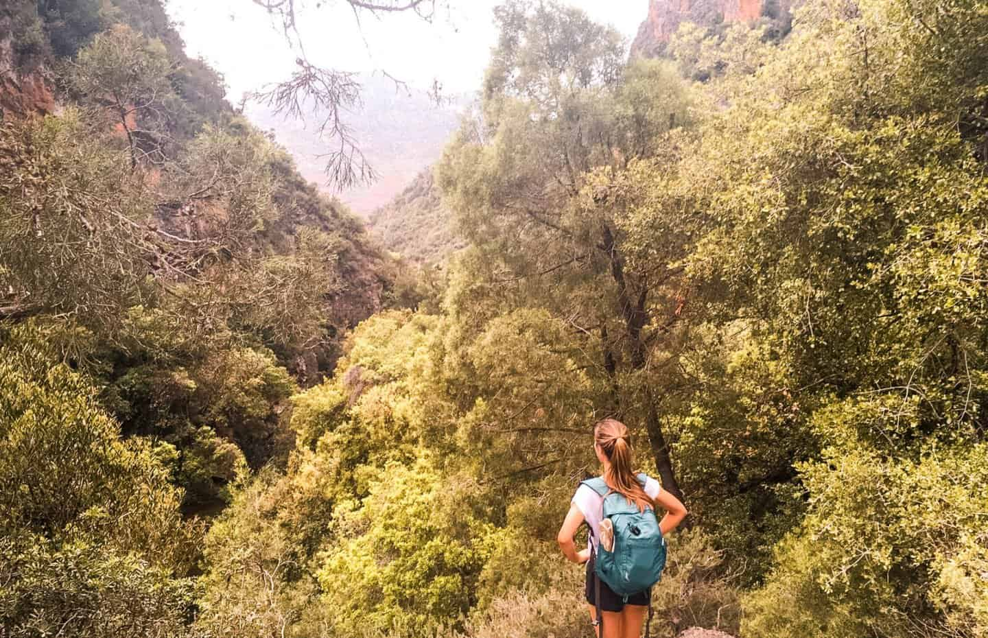 hiking in the Rif Mountains near Chefchaouen