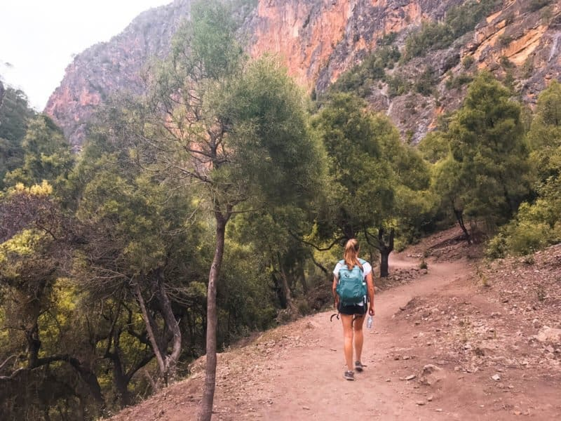 Hiking the Rif Mountains Morocco
