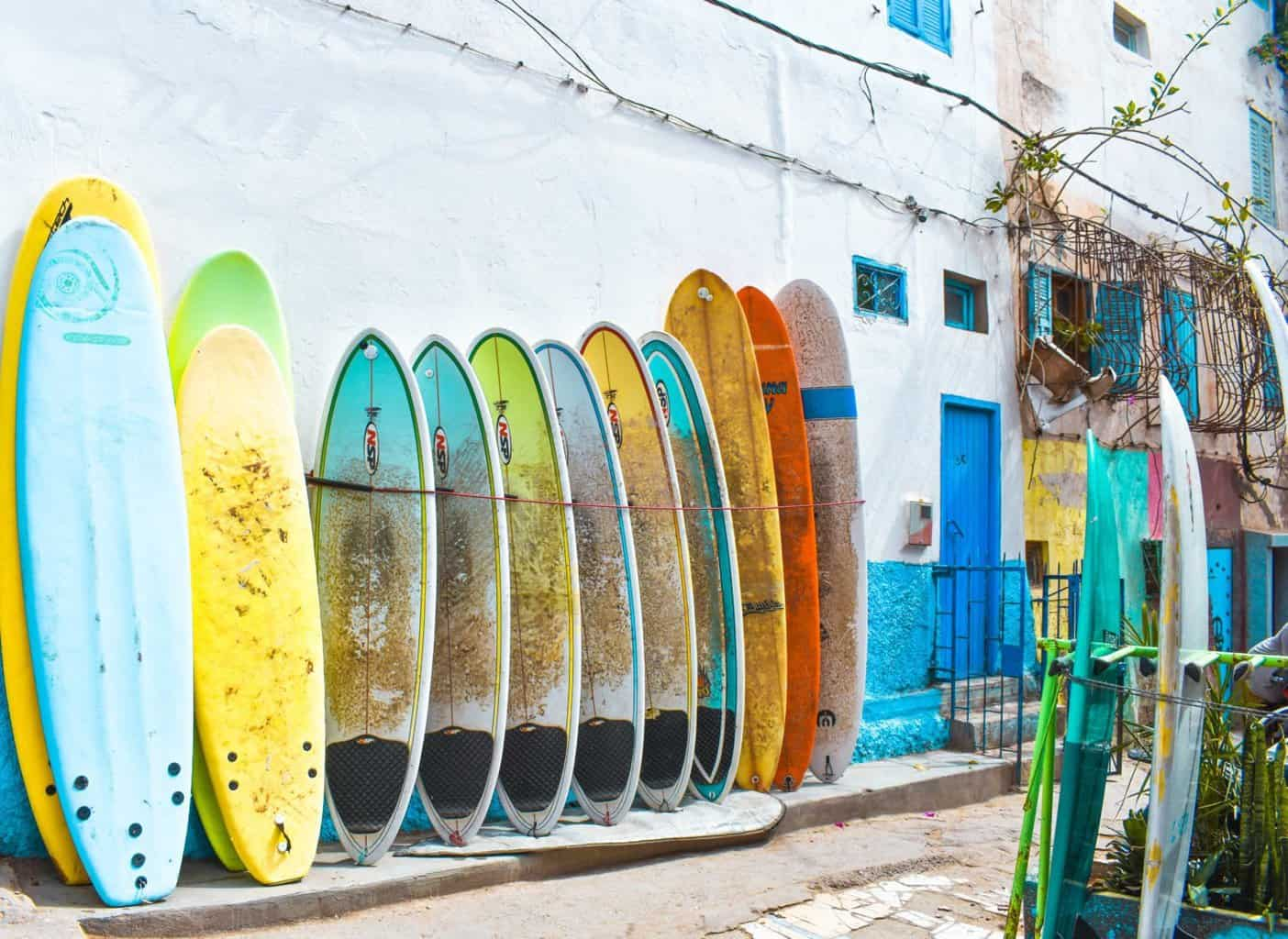 surf town of Taghazout