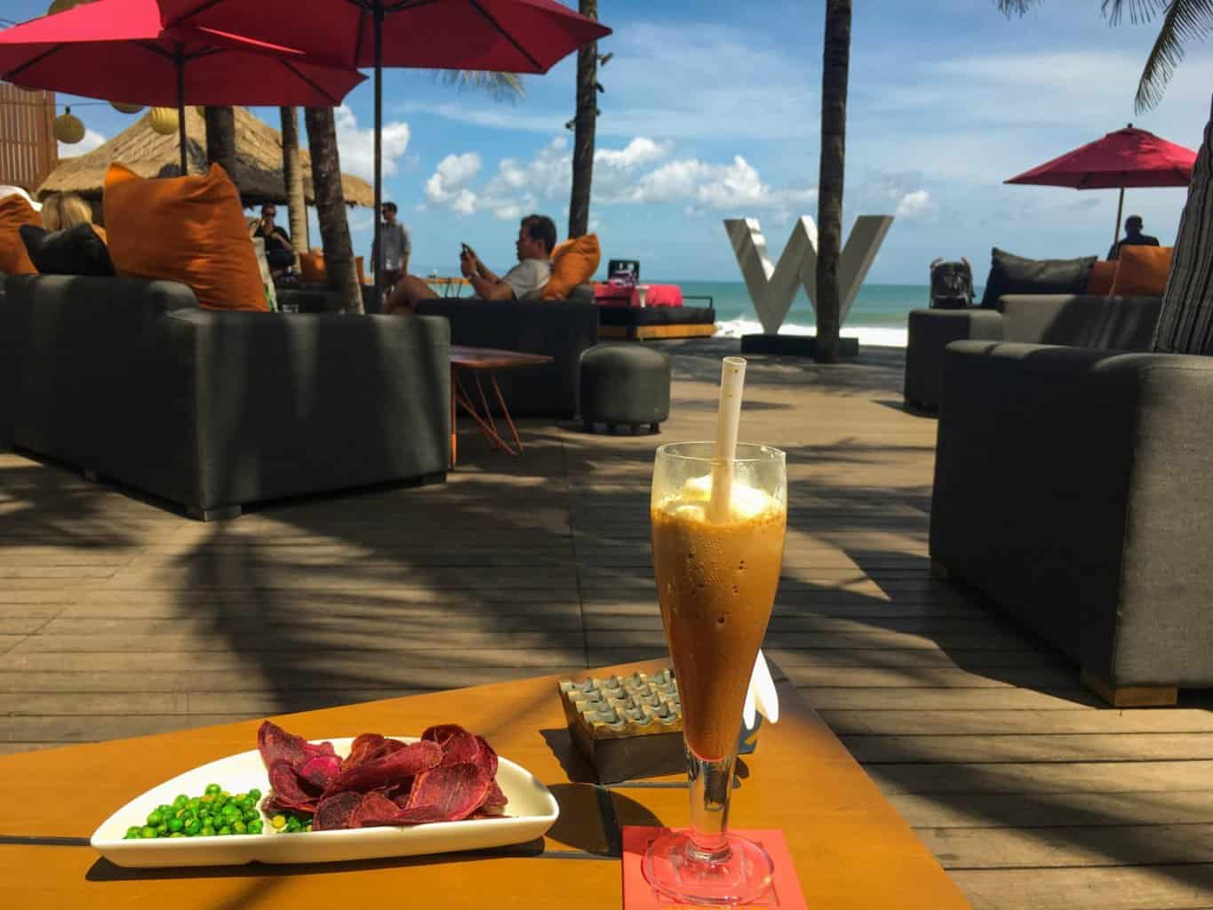 best beach bars in Bali