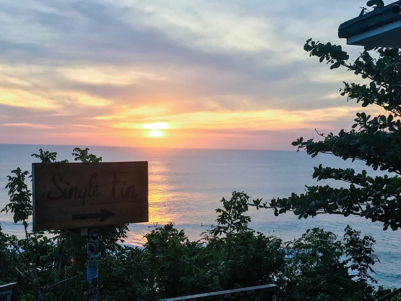 best bars in Bali for sunset