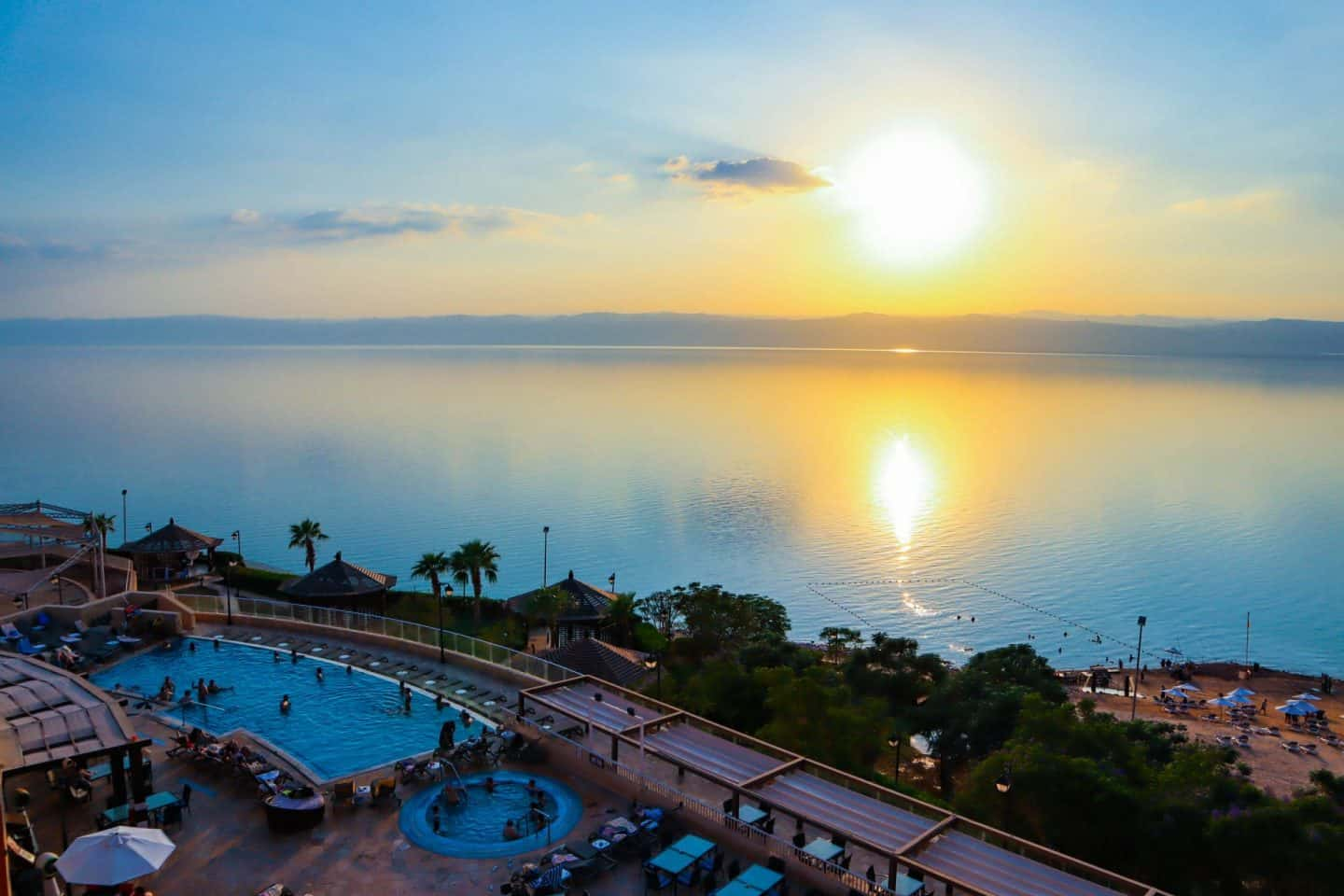 Staying at the Crowne Plaza Dead Sea Resort
