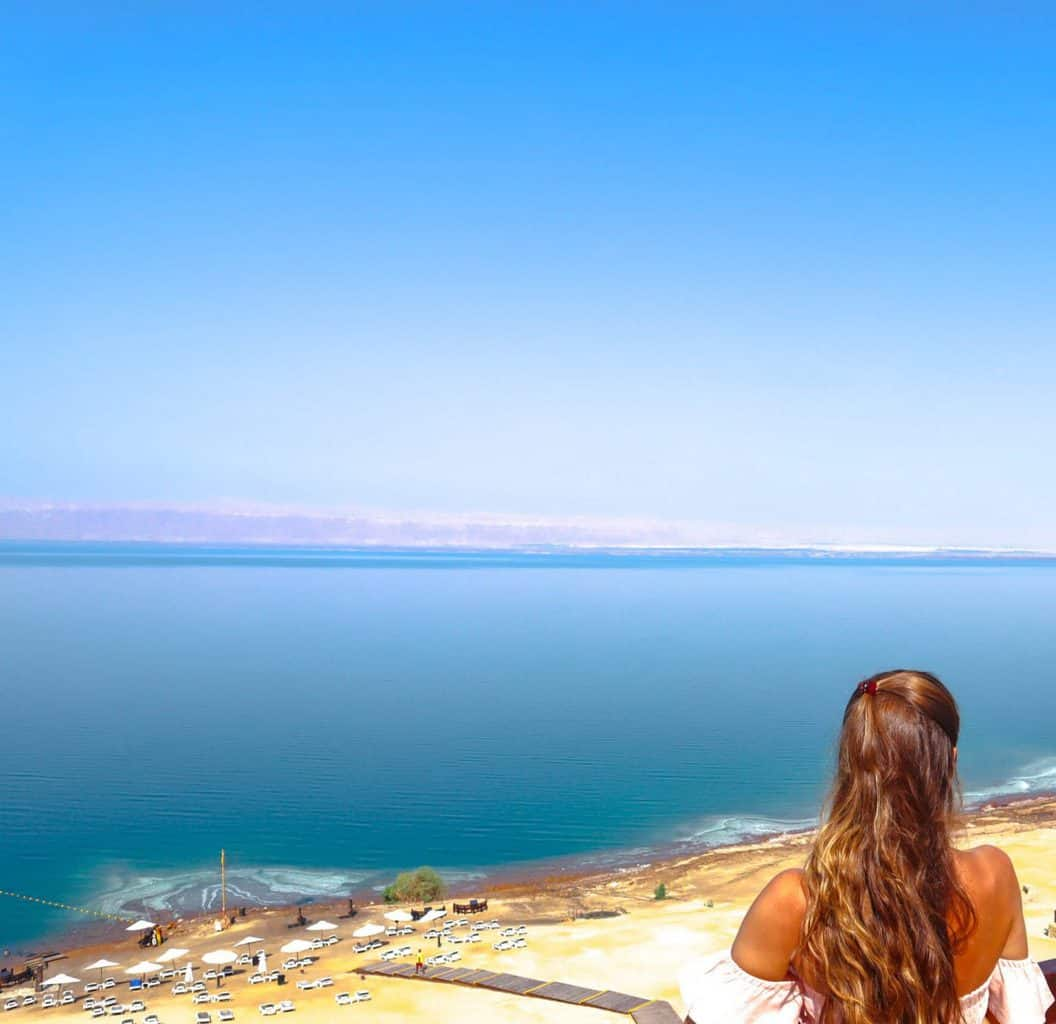 Visiting the Dead Sea in Jordan