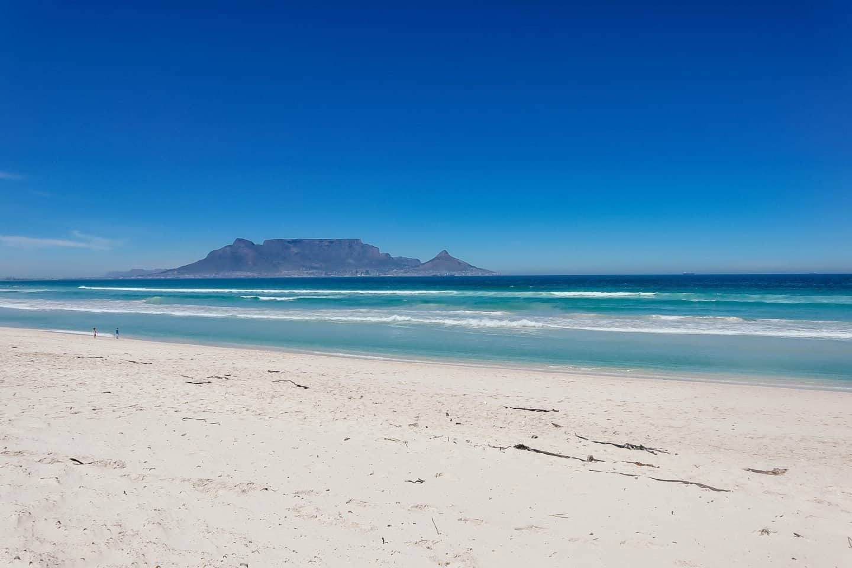 Bloubergstrand near Cape Town
