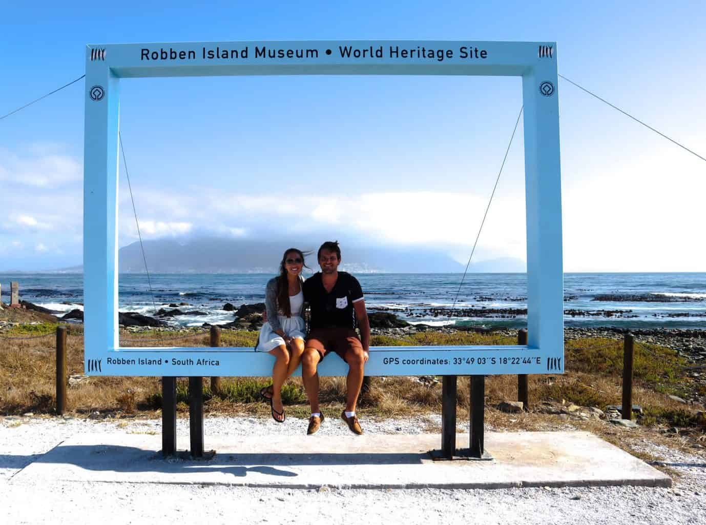 Robben Island view to Table Mountain
