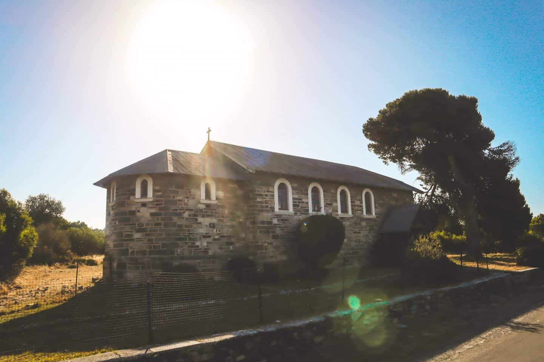 The church on Robben Island