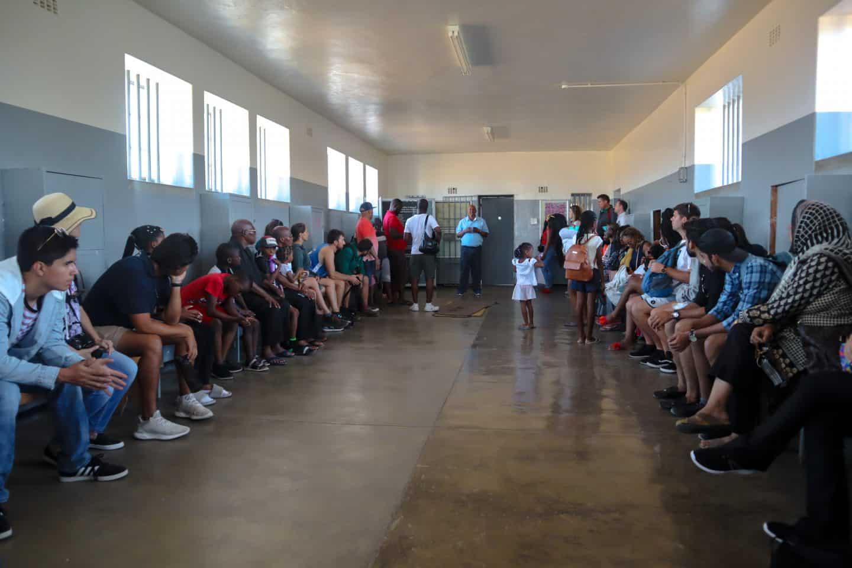 Robben Island talk with ex-prisoner