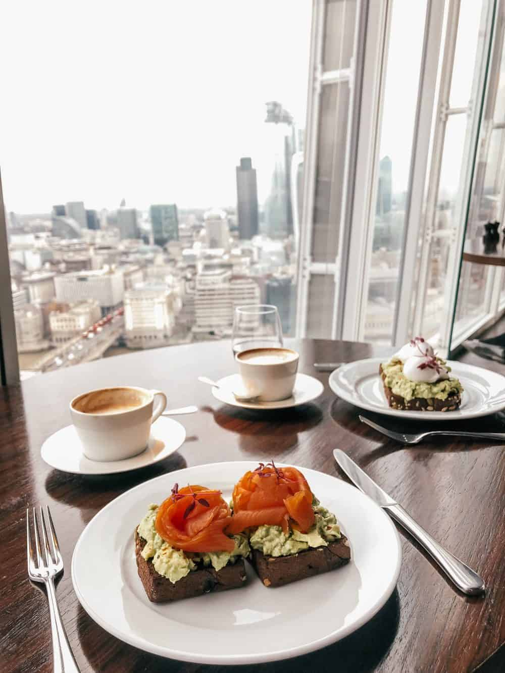where to eat breakfast in London Bridge