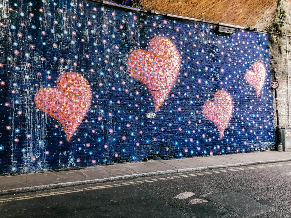 street art in Borough Market, London Bridge