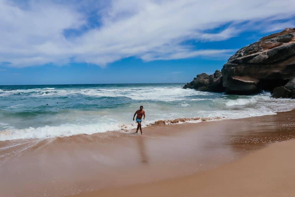 Beach at Buffels Bay, South Africa