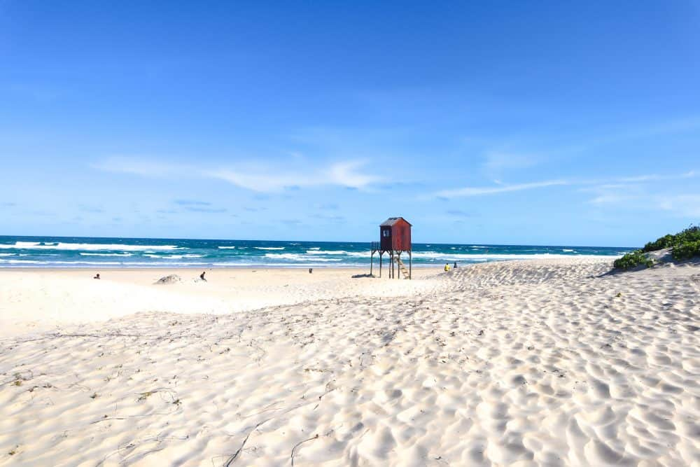 Beautiful beaches on the Garden Route