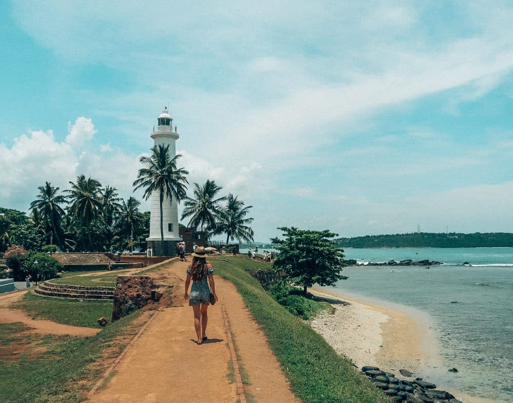 the historical town of Galle Fort