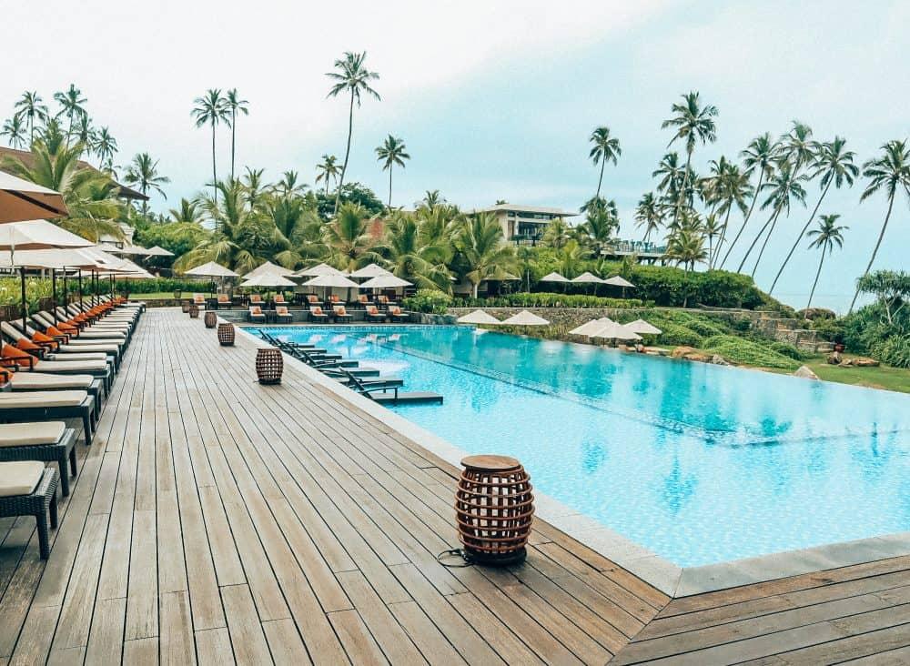 The swimming pool at Anantara Peace Haven Tangalle Resort